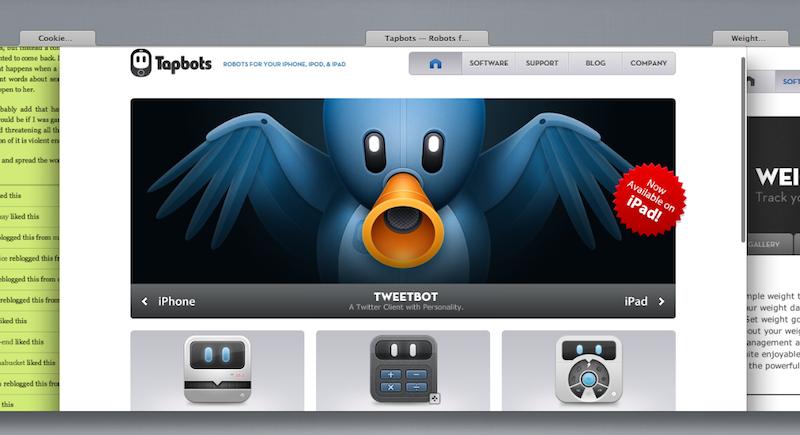 Safari iCloud Tabs