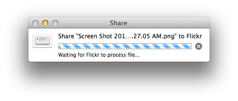 Flickr processing